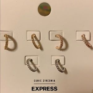 Earrings from express store